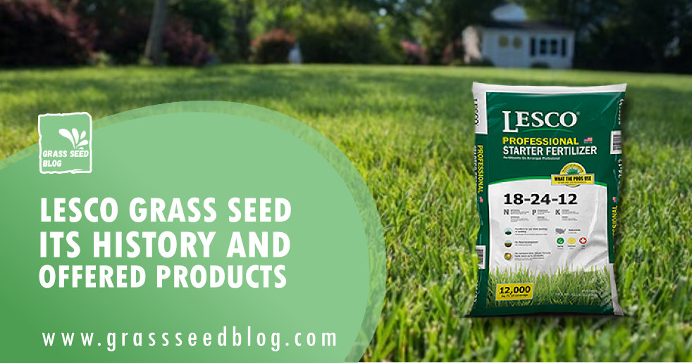 Lesco Grass Seed - Its History and Offered Products